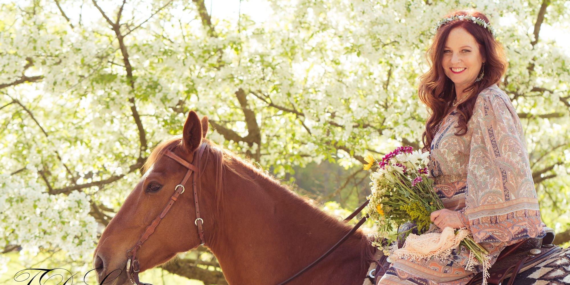 Julie on Horseback - Julie Ann Rose, Restoring the Heart