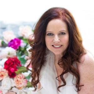 Julie Ann Rose amongst the Roses